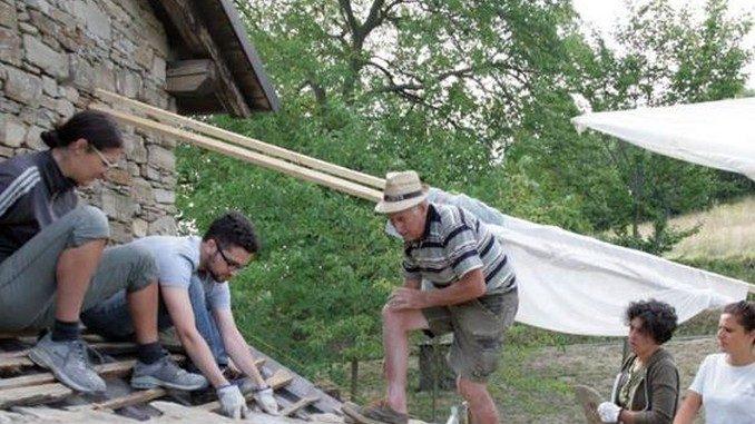 60 giovani hanno scoperto l'architettura rurale