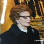 A Bra l'ultimo saluto a Piera Fossati, moglie di Domenico Dogliani