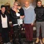 Dopo l'orrore del terremoto, Giorgia e la sua famiglia in visita ad Alba