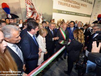 Pietro Grasso inaugura la Fiera del tartufo 2016