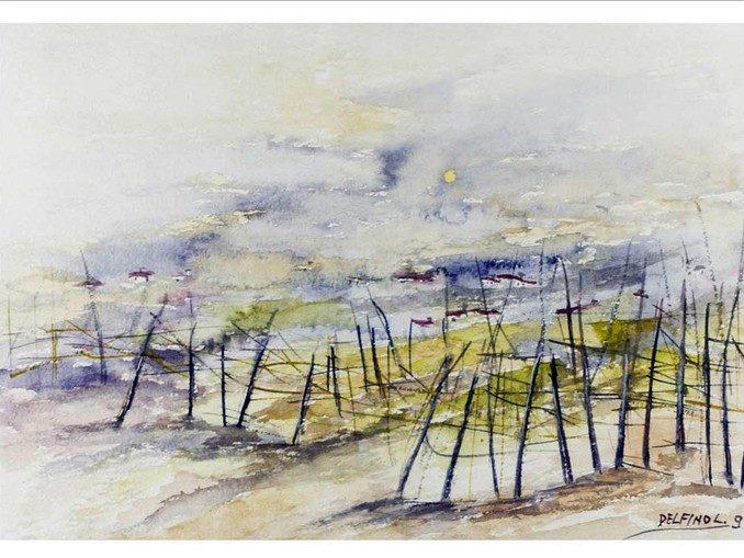 La vita di Langa nei dipinti di Luciano Delfino