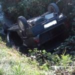 Con l'auto nel canale: tragedia sfiorata per un pensionato di Bra