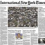 Il Tartufo, Barolo e le Langhe sulla prima pagina del New York Times