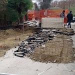 Frana in strada Bonora: Canale costretta a fare da sé