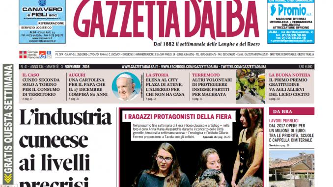 La copertina di Gazzetta in edicola martedì 1 novembre