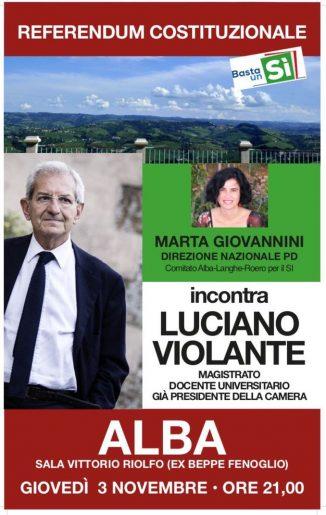 Luciano Violante e Marta Giovannini spiegano il referendum