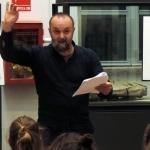 Lezione recitata al museo Eusebio sulle origini dell'uomo