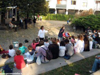 Bambini a lezione di teatro in italiano e in inglese alla Moretta 4