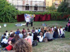 Bambini a lezione di teatro in italiano e in inglese alla Moretta 5