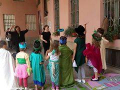 Bambini a lezione di teatro in italiano e in inglese alla Moretta 6