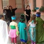 Bambini a lezione di teatro in italiano e in inglese alla Moretta