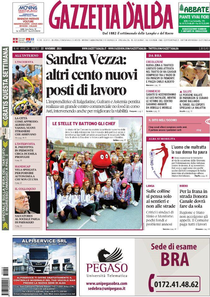 La copertina di Gazzetta in edicola martedì 22 novembre