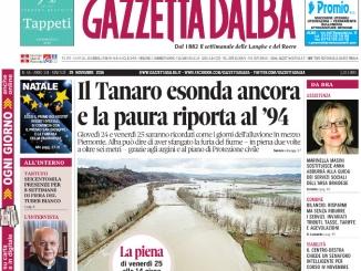 La copertina di Gazzetta in edicola martedì 29 novembre
