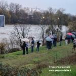 Previste ancora deboli precipitazioni, ma in calo il livello dei fiumi