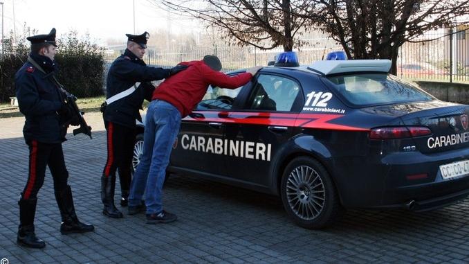 I Carabinieri arrestano dieci persone, per reati vari, in tutta la Granda