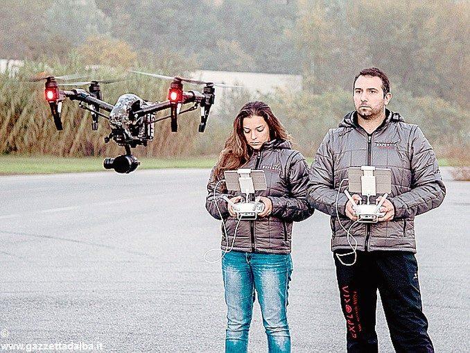 Ora con il drone si potranno controllare  vigneti e noccioleti