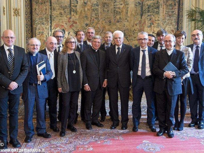 I settimanali cattolici nella casa degli italiani ricevuti dal presidente Mattarella 3