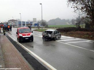 Incidente sulla strada provinciale Alba-Barolo: ferito un 50enne