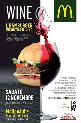 I vini di Langa e Roero in degustazione al McDonald's