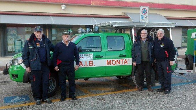 La squadra Aib di Montà in aiuto dei paesi terremotati