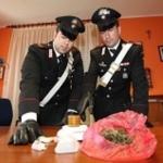 Fermati due spacciatori, uno con 60 grammi di cocaina l'altro con 35 di Marijuana
