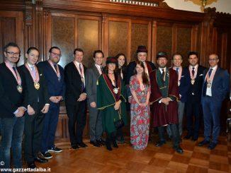 I Cavalieri del tartufo e dei vini d'Alba a New York