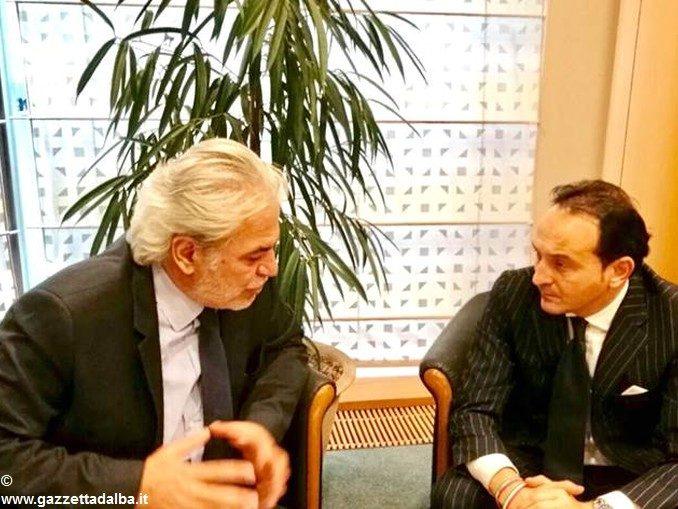 Alluvione: l'eurodeputato Cirio ha consegnato una richiesta di aiuti al commissario Ue