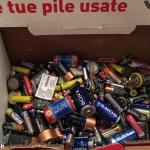 Raccolte oltre 6 tonnellate di pile nei paesi del consorzio Coabser