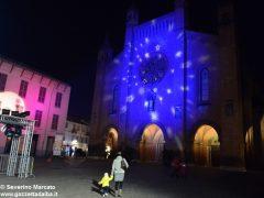 Fotogallery: lo spettacolo delle fontane luminose in piazza Duomo 2