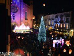 Fotogallery: lo spettacolo delle fontane luminose in piazza Duomo 5