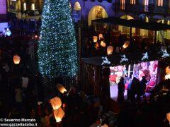 Fotogallery: lo spettacolo delle fontane luminose in piazza Duomo 6