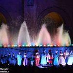 Fotogallery: lo spettacolo delle fontane luminose in piazza Duomo