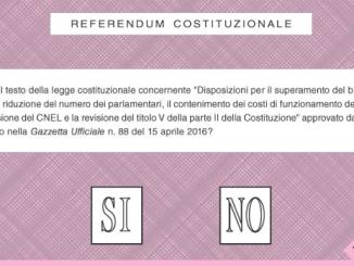 Referendum: perché votare sì, perché votare no