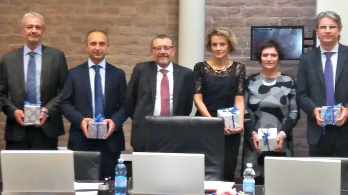 Banca d'Alba: premiati i dipendenti con 25 anni di anzianità