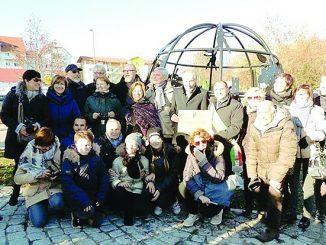 Vite, nocciola e pallapugno nel monumento donato a Brackenheim