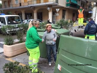 Operatrice ecologica Stirano, sventa una rapina a Loano