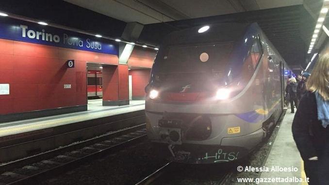 Partiti i primi treni elettrici da Alba. A bordo anche Gazzetta