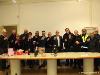 L'amministrazione di Alba ringrazia i volontari della protezione civile