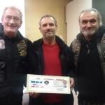 Consegnato alla concessionaria alluvionata di Ceva il contributo degli harleysti albesi