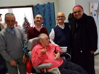 Vigilia con gli ospiti del Cottolengo per il Vescovo Brunetti 1