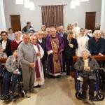 Vigilia con gli ospiti del Cottolengo per il Vescovo Brunetti