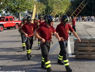 I Vigili del fuoco braidesi celebrano la patrona santa Barbara