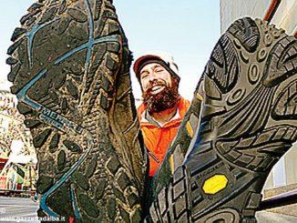 Daniel Alvarez, l'uomo che scopre il mondo con i piedi 1