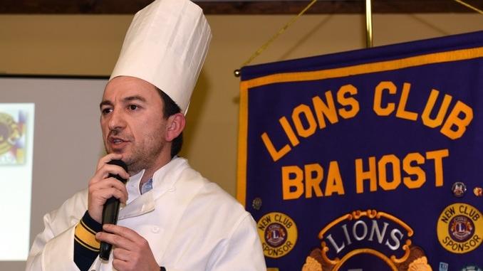 Masterchef con Lions club Bra Host e Leo club