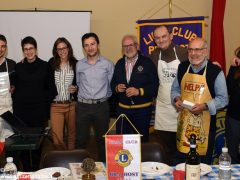 Masterchef con Lions club Bra Host e Leo club 4