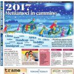La copertina di Gazzetta in edicola martedì 3 gennaio