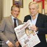 Il presidente del Parlamento Europeo Tajani ad Alba per la vendemmia