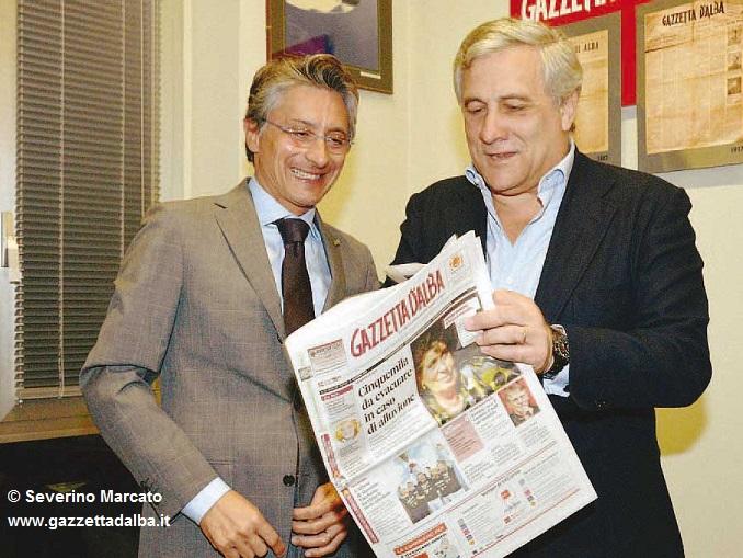 Tajani a Gazzetta 2 – AAA