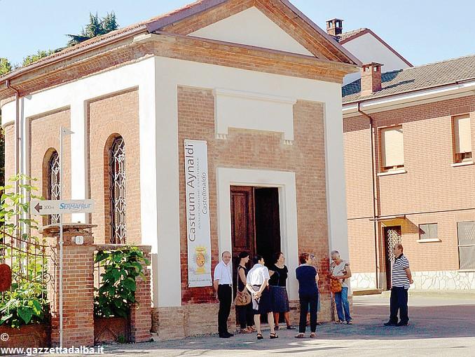 castrum aynaldi chiesa dell'Assunta o Madona du ri