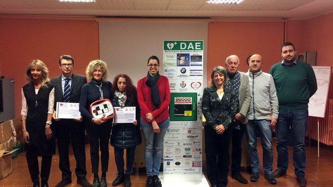 Un defibrillatore per l'istituto Einaudi di Alba